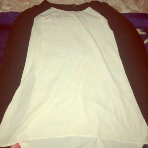 Black and white Share shirt very comfortable